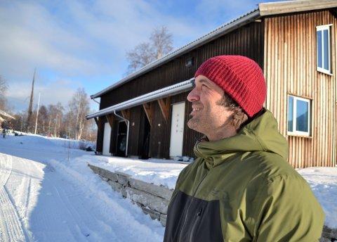 Oppover: Både i skisporten og i forretningslivet har Trygve Sande hatt blikket retta oppover. Men han tror at også VPG har en grense.