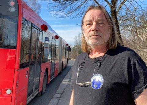 GÅR UTOVER PASSASJERER: Dette vil gå ut over byens passasjerer, det er det ingen tvil om, sier leder Ola Floberg i Oslo Sporveiers Arbeiderforening (OSA).
