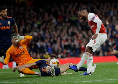 Lacazette (AP Photo/Kirsty Wigglesworth)