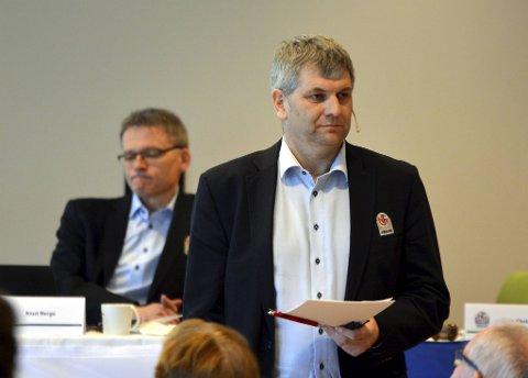 Tore-Christian Gjelsvik har mange verv i norsk fotball, blant annet som leder av fotballkretsen. Nå er han foreslått til NFF-styret.