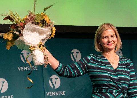 Guri Melby er valgt til ny leder i Venstre.