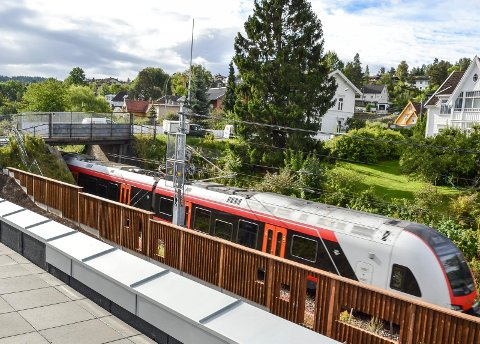 NY TRASÉ: Vestfoldbanen skal legges i en ny trasé fra 2025.