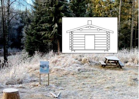 Skiforeningen har søkt kommunen om å få sette opp en gammel tømmerkoie ved Bråtanstua i Ytre Enebakk.