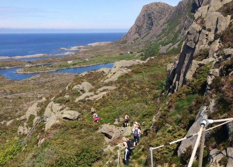 Arkvivfoto frå Nordsjøløypa på Hovden.