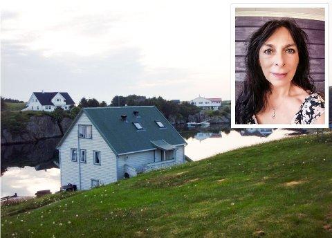DÅRLEG FOR REISELIVET: Ingrid Anita Gillesøy som driv reiselivsbedrifta Bulandsferie ute i Bulandet har fått fleire avbestillingar som følge av koronakrisa.