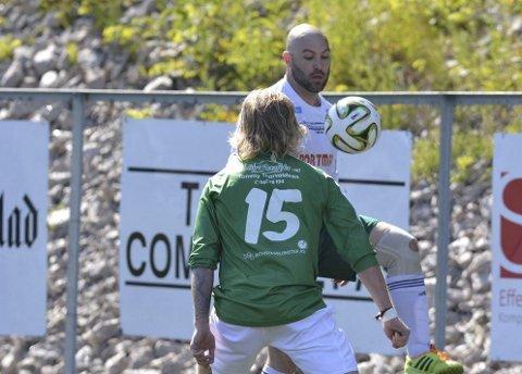 Kristian Ree Berge scoret da Kråkerøy 2 og Borgen spilte 2-2.