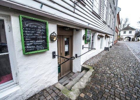 Slutt: Bare Grønt flyttet til Gamlebyen sommeren 2015. Nå stenger kafeen.