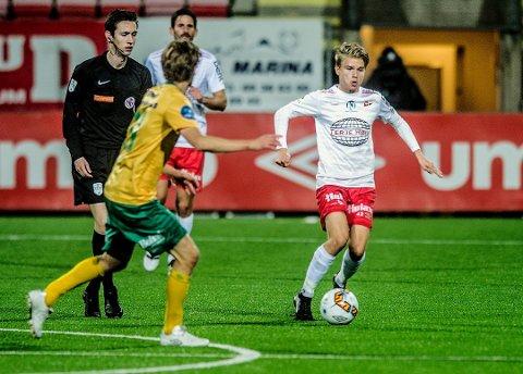 Supertalent: Thomas Rekdal fikk sin ilddåp i 1. divisjon i fjor. ledet han Norges G17-landslag til EM-sluttspill etter 3-0-seier mot Hellas.