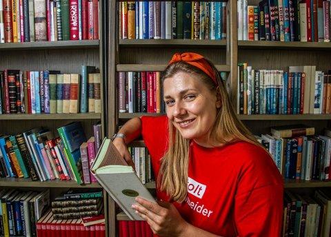 Motsatt lønnskamp: Hannah Berg i Rødt vil kjempe for lavere politikerlønninger.