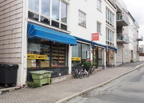 åpnet ny butikk: Allerede for fire måneder siden var en ny butikk i drift i samme lokalet som den forrige butikken gikk konkurs. Den nye butikken heter Mufids Matvarer.
