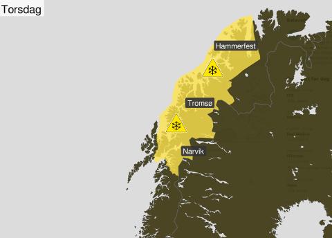 Sterk kuling: – Torsdag formiddag kan det komme sterke vindkast. Her er Narvik ganske skjermet sammenlignet med Lofoten, men også her vil det merkes, sier meteorolog Gunnar Livik.