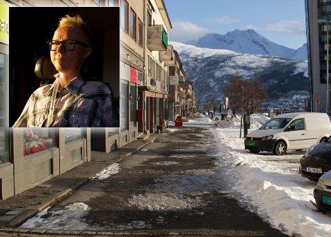 Bildet er tatt 5. april. Kontrasten er stor til fulle gater på Grünerløkka i Oslo. Takk for at dere viser hensyn.