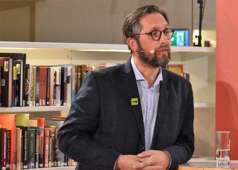 Førstakandidat for MDG Nordland Thomas Johansen
