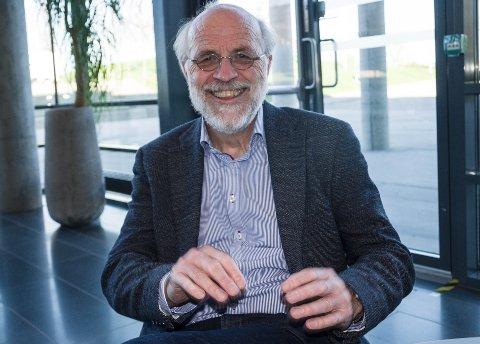 FORNØYD: Rektor Petter Aasen sier nye studieplasser styrker USN.