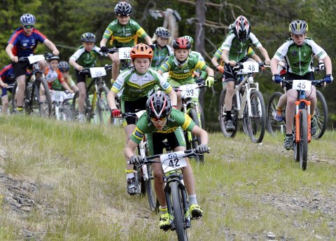 GD-CUP: Årets første ritt i GD-cupen på sykkel avvikles på Kvam søndag. Arkivfoto