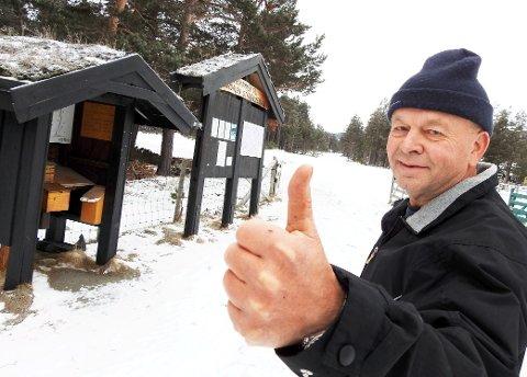 LETTELSE: Gardbruker og maskineier Morten Olesen på Lora tar avgjørelsen i jordskifteretten som en stor seier.