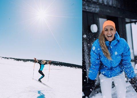 GUDBRANDSDALS-FAN: Camilla Aastorp Andersen, alias Treningsfrue, ser fram til hyttepåske i ny fritidsbolig neste år.