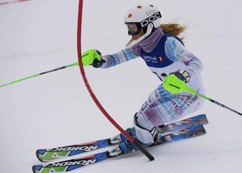 TOP 10: Hannah Sæthereng ble nummer ti i fredagens NM-utfor.