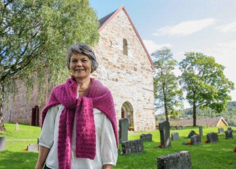 FLYTTER: Ann Toril Lindstad slutter som kantor i Gran og flytter til Bergen.