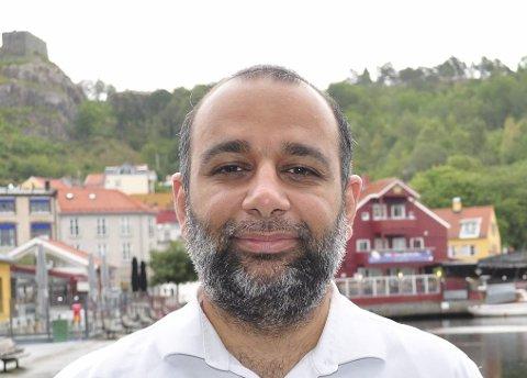 TROR PÅ ÅPENHET: Shan Salman Ibrahim Butt. Han er født og oppvokst i Halden. Arkiv