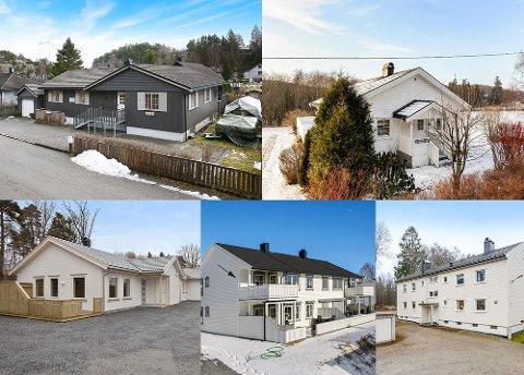 FEM BOLIGTIPS: Vi har bedt byens eiendomsmeglerkontor plukke ut hver sin bolig, som de mener er et ekstra godt kjøp i et ellers hett eiendomsmarked. Se hvilke fem boliger de anbefaler under.