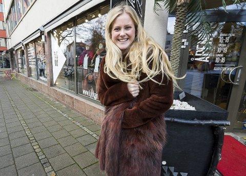 Nanna Charlotte Hoberg fra Halden drev Lykke i Fredrikstad. Foto: Jan Erik Skau, Fredriksstad Blad