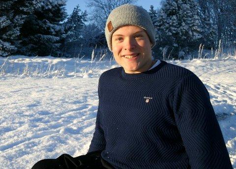 KLAR FOR NY SESONG: Jesper Saltvik Pedersen.