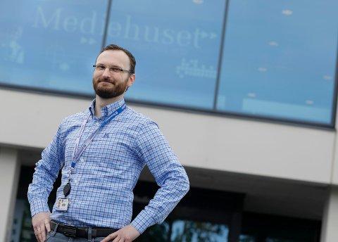 DIREKTØR: Øystein Vormestrand er administrerende direktør i Mediehuset Haugesunds Avis.