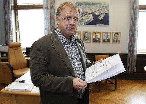 Odd Henry Dahle sitter i arbeidsgruppen som planlegger kulturhus på Karmøy.