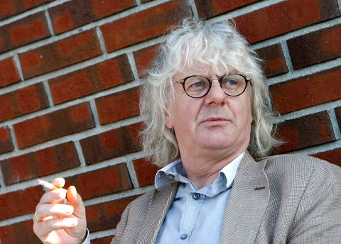 DØDE PÅ SYKEHUS: Siddisen Per Inge Torkelsen er død. Her avbildet i forbindelse med at Løgnaslaget skulle spille revy i Haugesund i 2008.