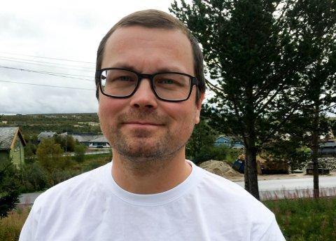 DAGLIG LEDER: Thomas Myrnes Nygård er sekretariatsleder i  Norske Samers Riksforbund (NSR).