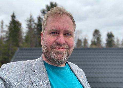 FROKOSTMØTE: Jon-Erik Vollan, daglig leder i Inderøy Utvikling inviterer til frokostmøte om digital synlighet.