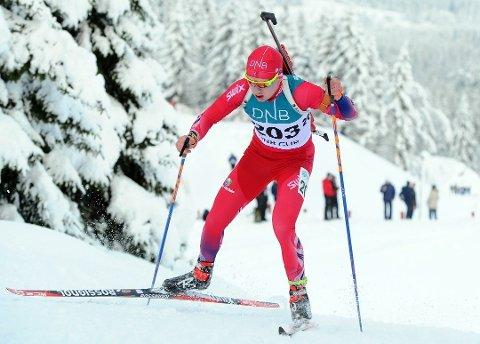 Martin Femsteinevik gjekk til topps på sprinten i Norgescupen på Geilo denne helga. (Arkivfoto).