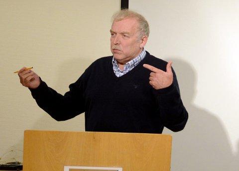 SA NEI: Lars E. Jacobsen (Sp) stemte nei til at kommunen skulle støtte årets TV-aksjon.
