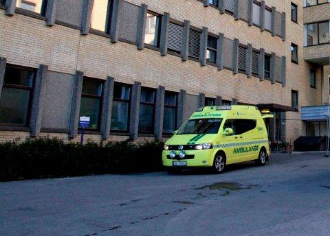 BEREDSKAP: Kongsberg sykehus har bygget opp en slagberedskap. Fra ankomst av pasient til behandling begynner tar det 30 minutter.