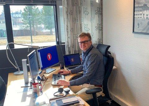 BANKSJEF: Torsten Aakre i Sparebank 1BV opprettholder all sponsor- og arrangementstøtte gjennom korona-krisen.
