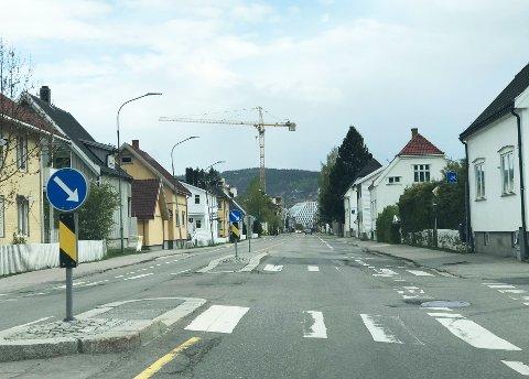 SKAL OPPGRADERES: Storgata skal stenges i to års tid for å oppgraderes. Flere frykter trafikkaos.