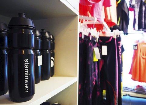 Ingen unnskyldning: Glemt treningstøy eller vannflaske? På Stamina Hot Leknes kan alt kjøpes i resepsjonen.
