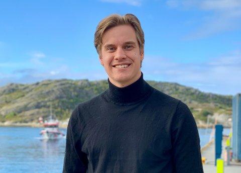UNGE HØYRE: Johann Martin Krüger er Unge Høyres stortingskandidat.