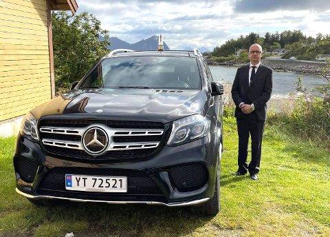 Tilbake: Rolf Dahlberg skal igjen kjøre bårebil og bidra under begravelsesseremonier - denne gang for Nord Gravferd AS.