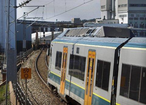 TOGPARKERING: Et større hensettingsanlegg for tog bejubles ikke i mosseregionen..