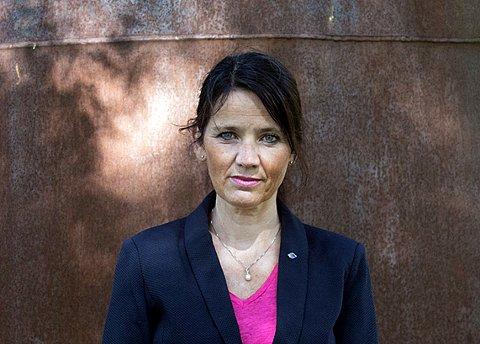 VANT: Anne-Kari Bratten i arbeidsgiverorganisasjonen Spekter er glad for at streiken i Felleskjøpet tidligere i høst, er dømt ulovlig.