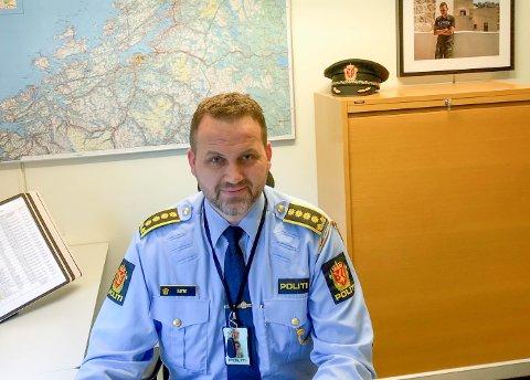 Anders Sjøtrø, UP-sjef i Midt-Norge.