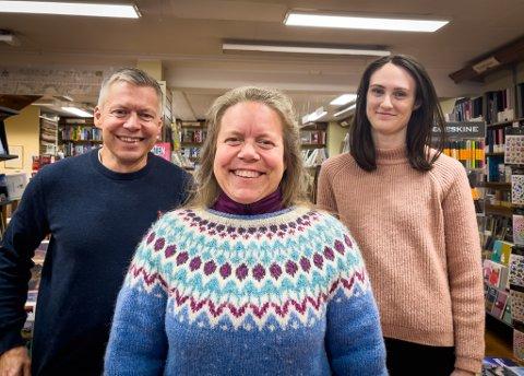 GODE RESULTATER: (Fra venstre) Martin Frans Antonsen, Merete Antonsen og Helene Fosse står på og fortsetter å levere gode resultater.