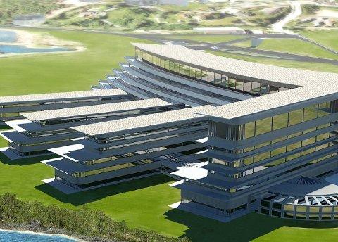 GIGANTBYGG: Plassbehovet i et sykehus er stort på grunn av tekniske installasjoner