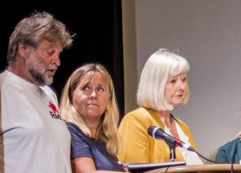 SPENNENDE: Ski-ordfører Anne Kristine Linnestad fortalte at hun ikke kunne si ja her og nå.