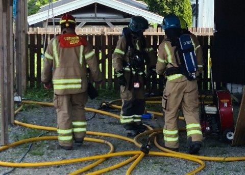 BRANNTILLØP: Det har vært et branntilløp i en bolig i Skotbu tirsdag.