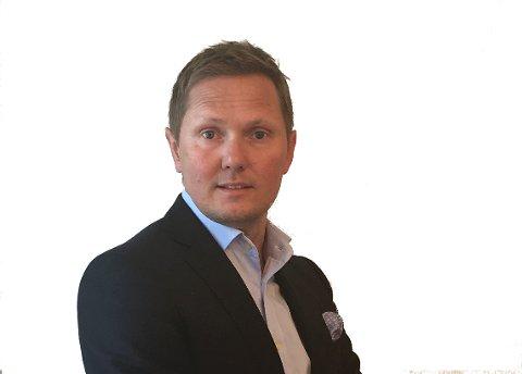 Lasse Olsen er direktør for personmarkedet i SpareBank 1 BV.