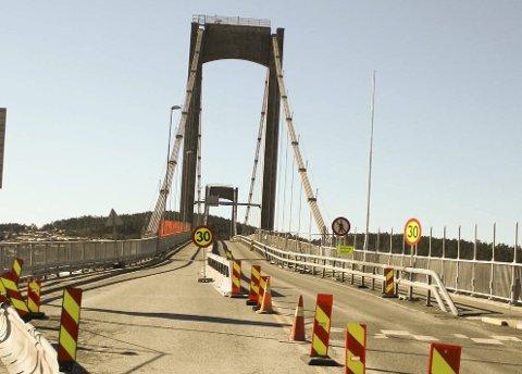 Breviksbrua åpnes for ordinær trafikk fire måneder før tidligere antatt.