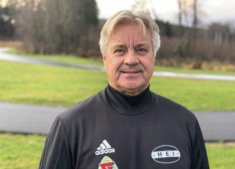 Ikke tapt: Brede Halvorsen har ikke tapt som trener for Hei i 4. divisjon.